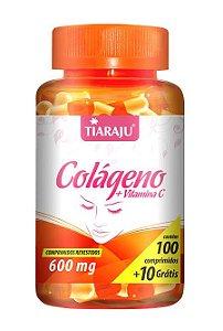 Colágeno + Vitamina C 600mg (100 Comprimidos) - Tiaraju