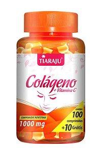 Colágeno + Vitamina C 1000mg (100 Comprimidos) - Tiaraju