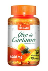 Óleo de Cartamo 1000 mg (60 Cápsulas) - Tiaraju
