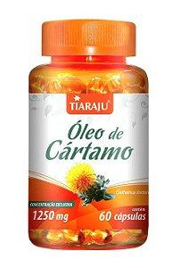 Óleo de Cartamo 1250 mg (60 Cápsulas) - Tiaraju