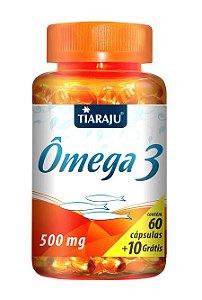 Ômega 3 500 mg (60 Cápsulas) - Tiaraju