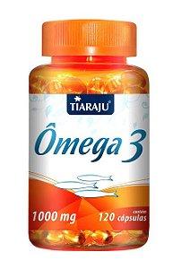 Ômega 3 1000 mg (120 Cápsulas) - Tiaraju