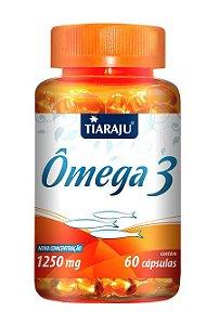 Ômega 3 1250 mg (60 Cápsulas) - Tiaraju