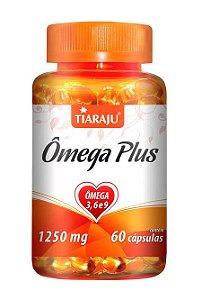 Ômega Plus 1250 mg (60 Cápsulas) - Tiaraju