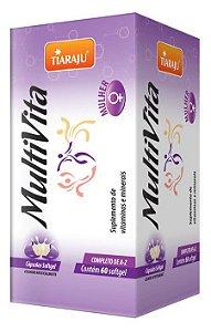 MultiVita Mulher (60 Cápsulas) - Tiaraju