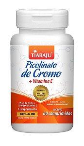 Picolinato de Cromo + Vitamina E 250 mg (60 Comprimidos) - Tiaraju