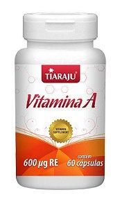 Vitamina A (60 Cápsulas) - Tiaraju