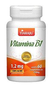 Vitamina B1 (60 Comprimidos) - Tiaraju