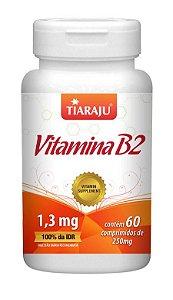 Vitamina B2 (60 Comprimidos) - Tiaraju
