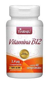 Vitamina B12 (60 Comprimidos) - Tiaraju