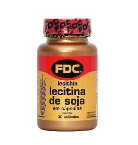 Lecitina de Soja 1200mg (30 Cápsulas) - FDC