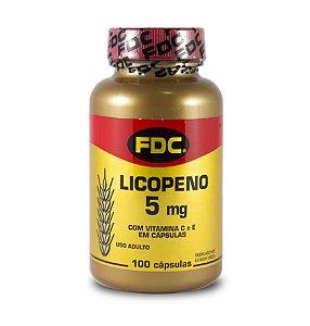 Licopeno 5mg (100 Cápsulas) - FDC