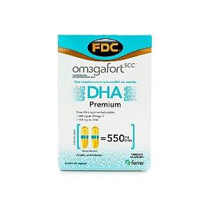 Om3gaFort DHA Premium (60 Cápsulas) - FDC