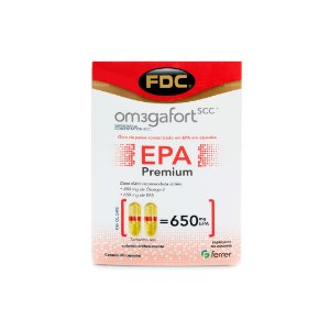 Om3gaFort EPA Premium (60 Cápsulas) - FDC