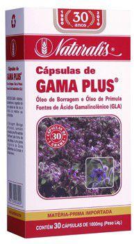 Gama Plus - 30 Cápsulas - Naturalis