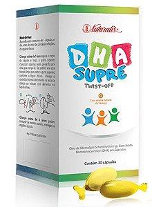 DHA Supre - 30 Cápsulas (Sabor Laranja) - Naturalis