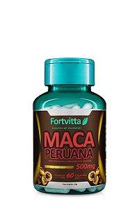 Maca Peruana (500MG) - 60 Cápsulas - Fortvitta
