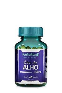 Óleo de Alho (500MG) - 60 Cápsulas - Fortvitta