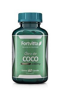 Óleo de Coco (1000MG) - 120 Cápsulas - Fortvitta