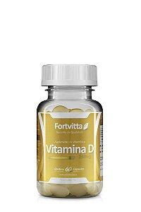 Vitamina D (250MG) - 60 Cápsulas - Fortvitta