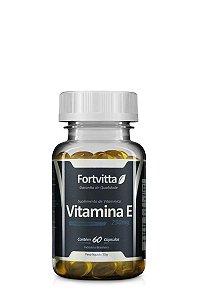 Vitamina E (250MG) - 60 Cápsulas - Fortvitta