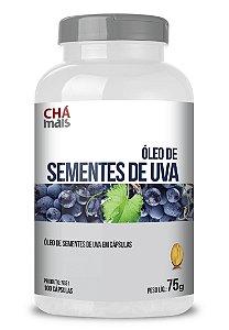 Óleo de Semente de Uva (100 Cápsulas) - ChaMais