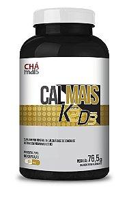 Calmais K2 D3 (90 Cápsulas) - Chamais