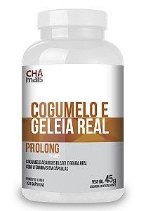 Cogumelo e Geleia Real - 100 Cápsulas - Chamais