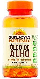 Óleo de Alho 1500mg (100 Cápsulas) - Sundown