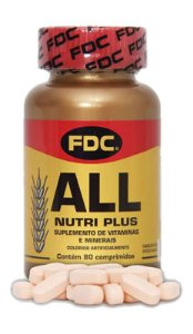 All Nutri Plus (80 Comprimidos) - FDC