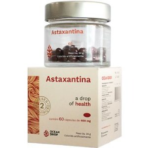 Astaxantina (60 Cápsulas) - Ocean Drop