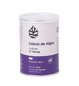 Cálcio de Algas (120 Cápsulas) - Ocean Drop