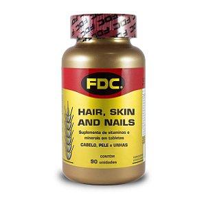 Hair, Skin and Nails (Cabelo, Pele e Unhas) 90 unidades - FDC