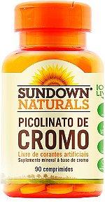Picolinato de Cromo (90 comprimidos) - Sundown Naturals