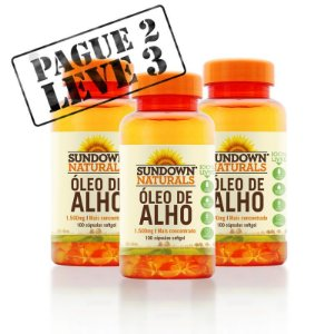PAGUE 2 LEVE 3 - Óleo de Alho (100) - Sundown Vitaminas