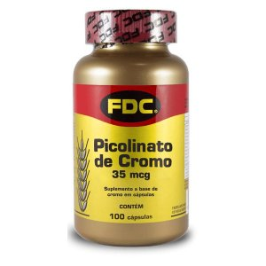 Picolinato de Cromo - 35mcg (100 Cápsulas)