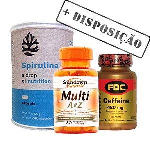 Kit Disposição - Vitaminas Já