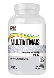 Multivitmais (120 Cápsulas) - ChaMais
