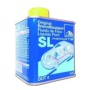 Fluído de freio dot 4  Até Bremsflüssigkeit Sl Original Lata 500ml