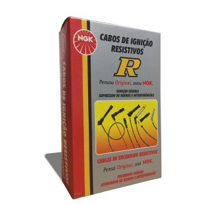 Jogo Cabos De Velas Ngk Gol Parati 1.0 16v At 1997 > 2001