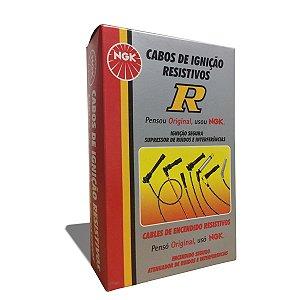 Cabos De Vela Ngk Gol G2 1.6 Ap álcool / Gasolina