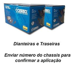 Kit Pastilha Freio Dianteiro + Traseiro C4 Lounge Thp 2015