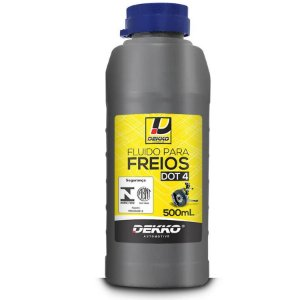 Fluído de freio Dot 4 Dekko 500ml
