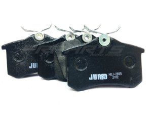 Pastilhas de freio Traseira HQJ-2085 JURID