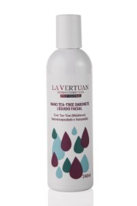 Nano Tea-Tree Sabonete Líquido Facial 240ml