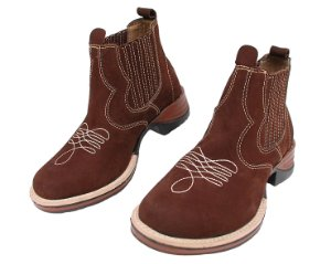 Bota Country Masculina Costurada