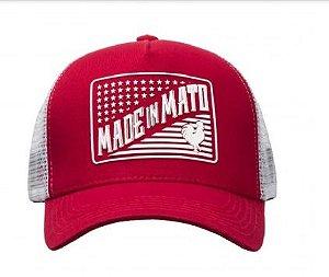 Boné Made in Mato América Vermelho Original
