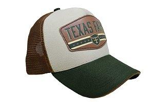Boné Country Texas Farm Verde Musgo