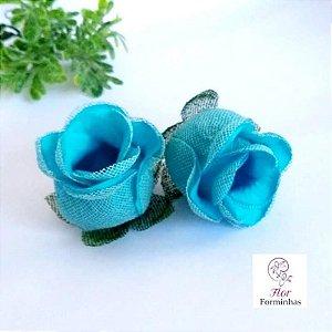 25 Forminhas para doces Flor Botão Rosa - Tifany  - F044