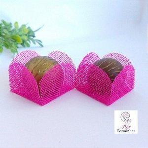 25 Formas para doces - Caixeta Pink -F002